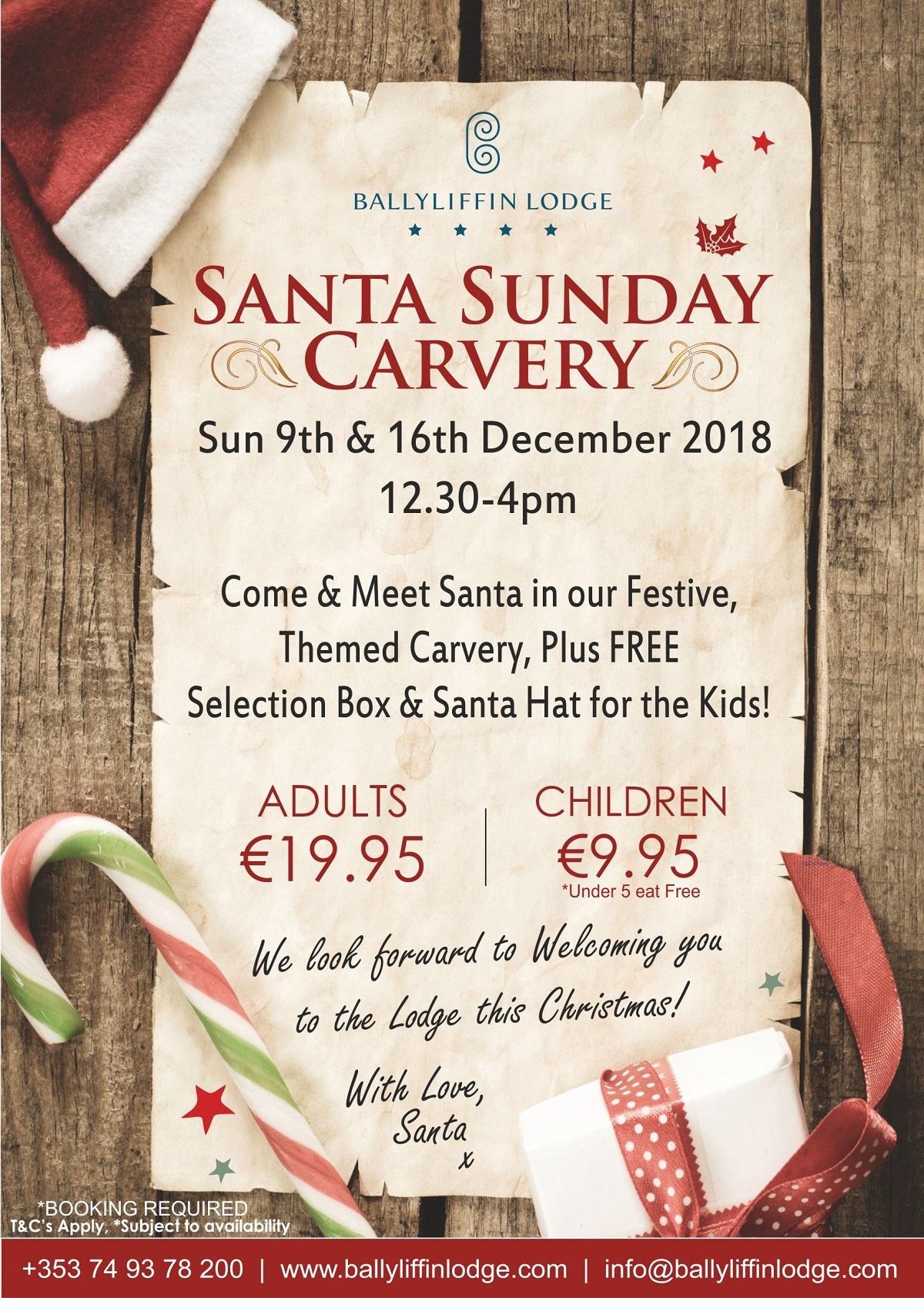 Santa Sundays 2018